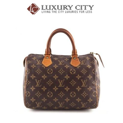 [Luxury City] Preloved Authentic Louis Vuitton Monogram Speedy 25 Handbag