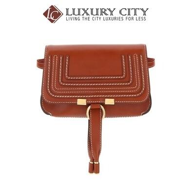 [Luxury City] Chloe Marcie Belt Bag Brown Chloe-C19AS179