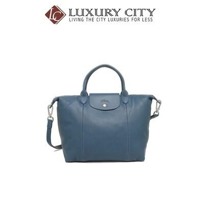[Luxury City] Longchamp Le Pliage Cuir Top-Handle