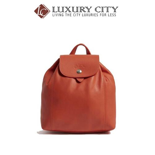 [Luxury City] Longchamp Le Pliage Cuir Backpack XS