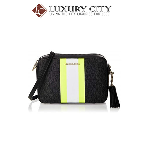 [Luxury City] Michael Kors Cross-Body Camera Bag Black MMK-32T9LF5M2B
