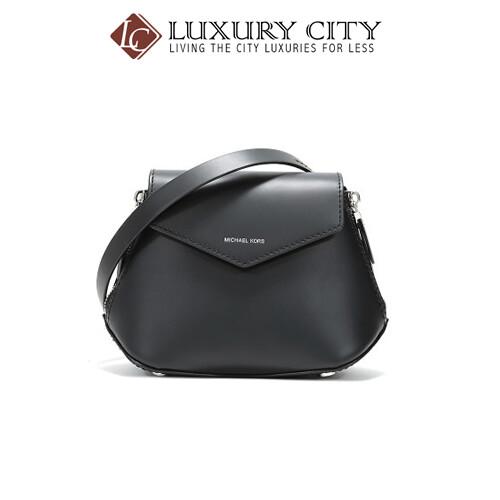 [Luxury City] Michael Kors MK Cross Body Bag Black MMK-32T9SZLC2L