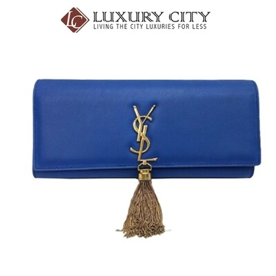 [Luxury City] Preloved Authentic YSL Clutch Bag