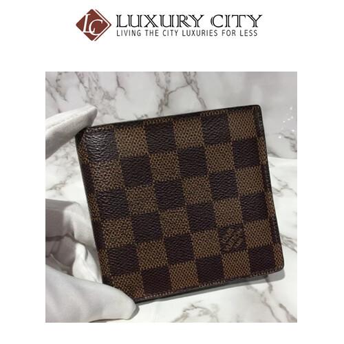 [Luxury City] Prevelod Authentic Louis Vuitton Damier Short Wallet