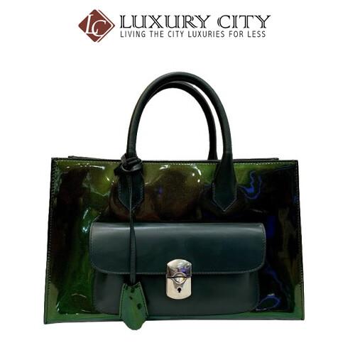 [Luxury City] Balenciaga Patent Leather Handbag