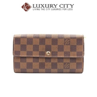 [Luxury City] Preloved Authentic Louis Vuitton Damier Long Wallet