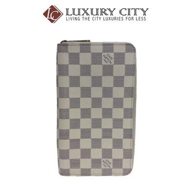 [Luxury City] Preloved Authentic Louis Vuitton Damier Azur Wallet