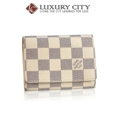 [Luxury City] Preloved Authentic Louis Vuitton Damier Azur Cardholders