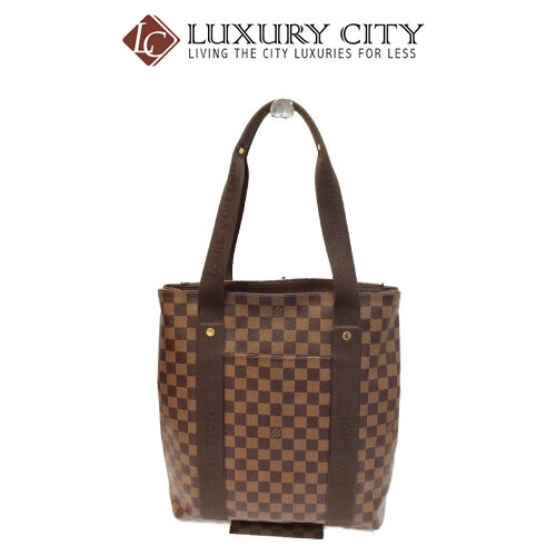 [Luxury City] Preloved Authentic Louis Vuitton Damier Canvas Beaubourg Tote Bag