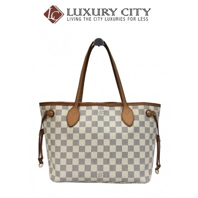 [Luxury City] Preloved Authentic Louis Vuitton Damier Neverfull Bag