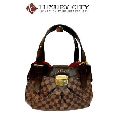 [Luxury City] Preloved Authentic Louis Vuitton Monogram Men Clutch Damier Ebene Handbag