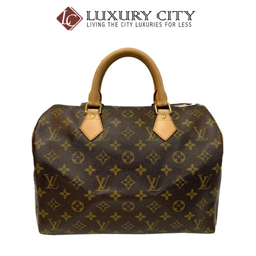 PRELOVED AUTHENTIC LOUIS VUITTON MONOGRAM SPEEDY 30 HANDBAG