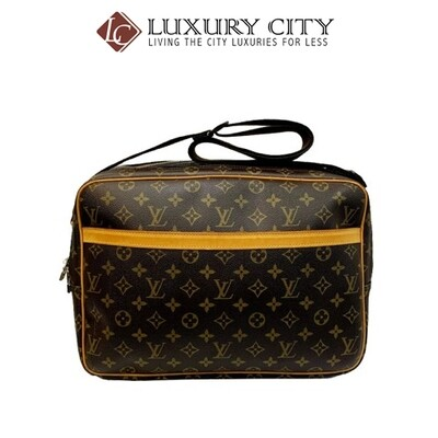 [Luxury City] Preloved Authentic Louis Vuitton Monogram Reporter Shoulder Bag