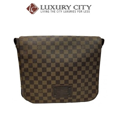 [Luxury City] Preloved Authentic Louis Vuitton Brooklyn Damier Ebene Messenger Bag