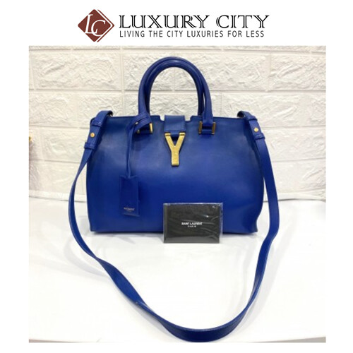 [Luxury City] Preloved Saint Laurent Chyc Leather Handbag