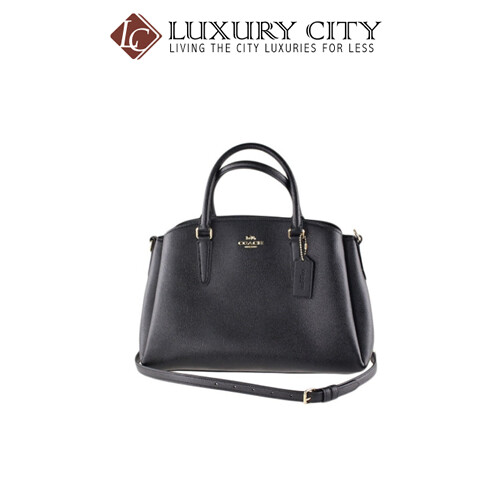 [Luxury City] Coach Handbag Coach Black System Coach-F28976
