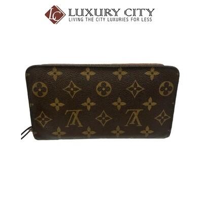 [Luxury City] Preloved Authentic Louis Vuitton Monogram Zip Around Wallet
