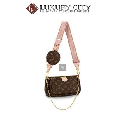 [Luxury City] Louis Vuitton Multi Pochette Accessoires Rose Clair LV-Multipochette