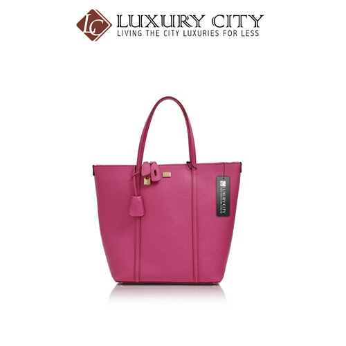 [Luxury City] Dolce & Gabbana St. Dauphine Leather Shopper