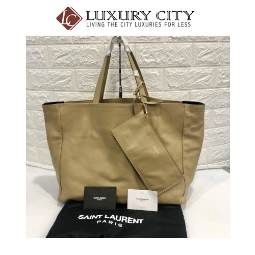 [Luxury City] Saint Laurent Double Sided Shopping Bag