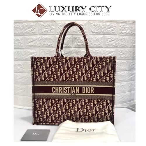 [Luxury City] Preloved Dior Book Tote