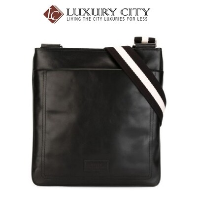 [Luxury City] Bally Large 'Terys' Messenger Bag Black Bally-6189946