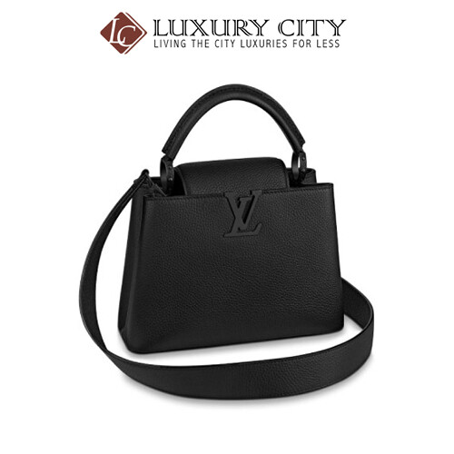 LOUIS VUITTON CAPUCINES BB BLACK LV-M55855