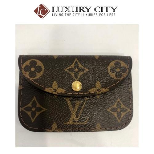 preloved Louis Vuitton belt pouch
