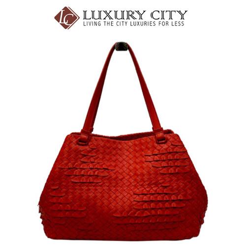 [Luxury City] Preloved Authentic Bottega Veneta Intrecciato Nappa Handbag