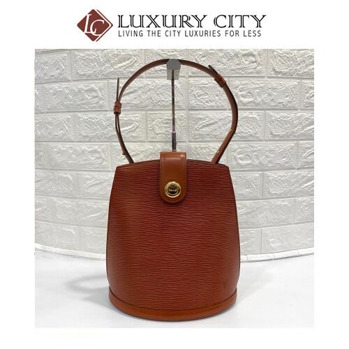 Preloved Louis Vuitton EPI leather bucket