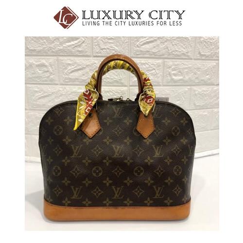 [Luxury City] Preloved Vintage Louis Vuitton Alma
