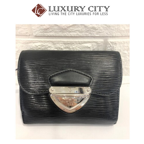 [Luxury City] Preloved Used Louis Vuitton EPI Leather Short Wallet
