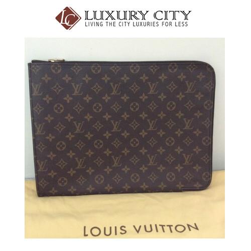 [Luxury City] Preloved Vintage Louis Vuitton Poche Document Case