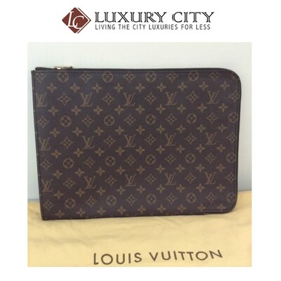 [Luxury City] Preloved Vintage Louis Vuitton Poche Document Case