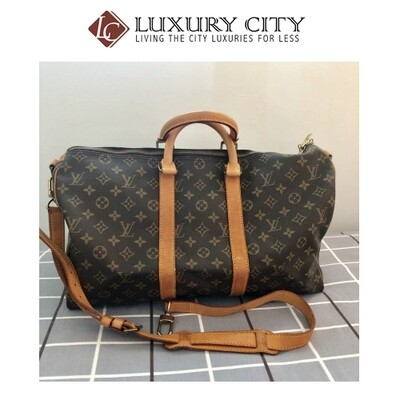 [Luxury City] Preloved Vintage Louis Vuitton Keepall 45''