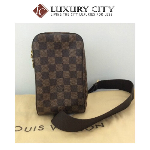[Luxury City] Preloved Vintage Louis Vuitton Geronimo Cloth Bag