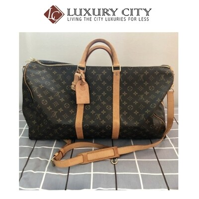 [Luxury City] Preloved Vintage Louis Vuitton Keepall 55