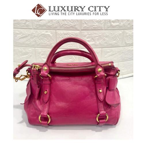 [Luxury City] Preloved Authentic Miu Miu Shoulder Bag