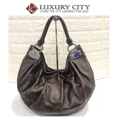 [Luxury City] Preloved Used Miumiu Full Leather Shoulder Carry Bag