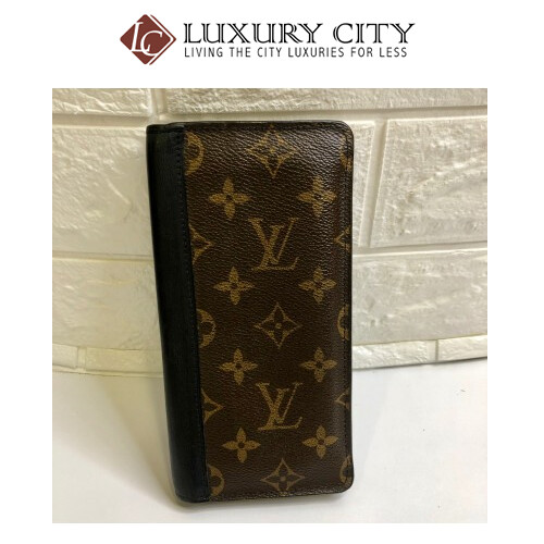 used Louis Vuitton Brazza Long Wallet