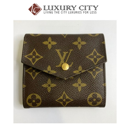 Vintage Louis Vuitton Monogram Double sided short wallet