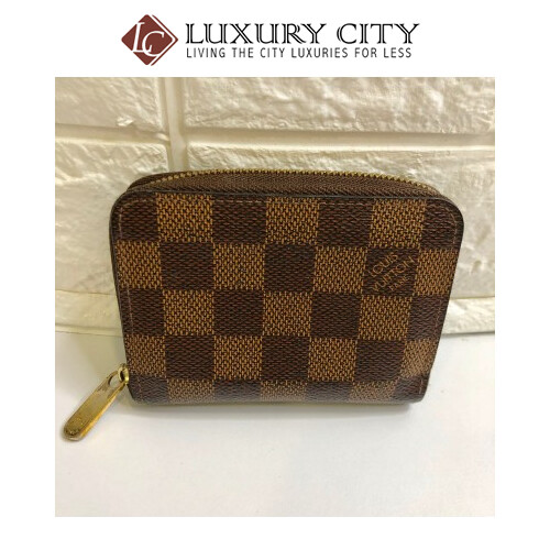 used Louis Vuitton Zip-round short wallet