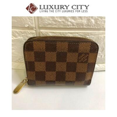 [Luxury City] Preloved Used Louis Vuitton Zip-Round Short Wallet