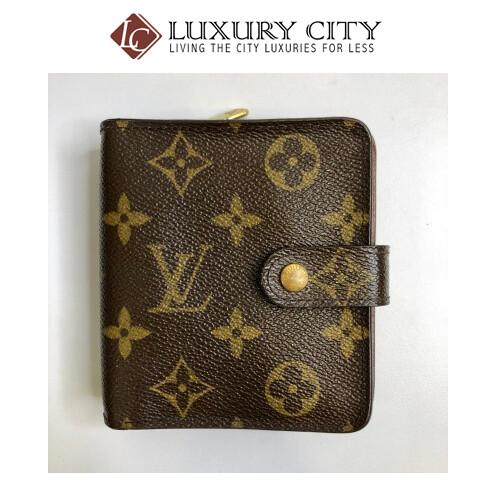[Luxury City] Preloved Vintage Louis Vuitton Bifold Short Wallet