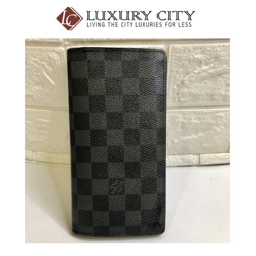 [Luxury City] Preloved Used Louis Vuitton Brazza Long Wallet