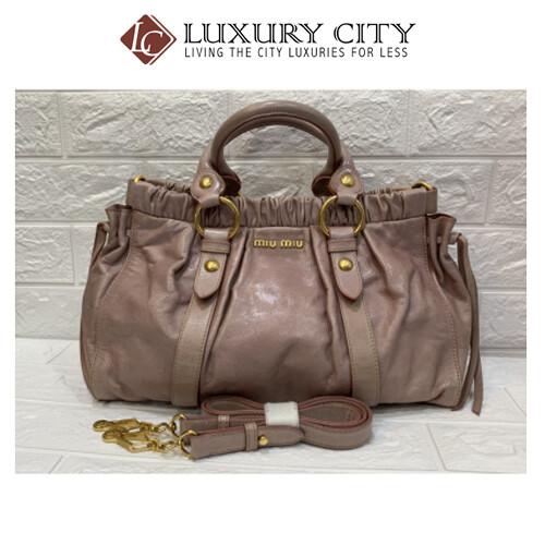 [Luxury City] Preloved Miumiu 2 Ways Carry Bag