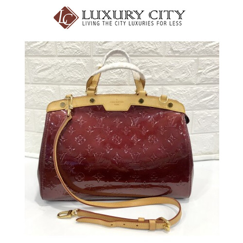 [Luxury City] Preloved Louis Vuitton Patent Leather Doctor Bag