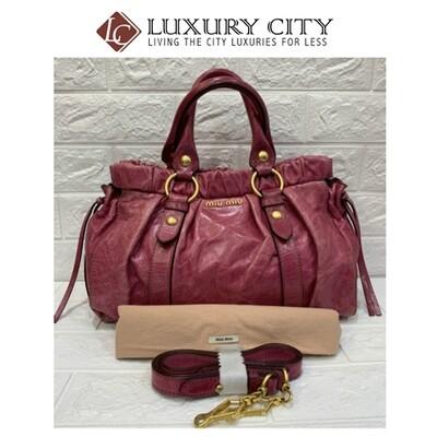 [Luxury City] Preloved Miumiu 2 Ways Bag