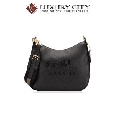 [Luxury City] Coach Jes Hobo Coach-F72702 (BLACK)