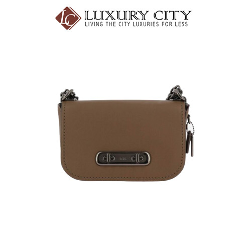 COACH SWAGGER SHOULDER BAG BROWN COACH-18858